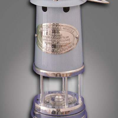 "Welsh Replica Miner Lamp Lifestyle Edition ""Blue"""